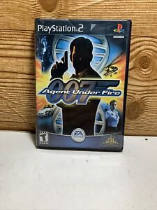 James-Bond-007-in-Agent-Under-Fire-PlayStation-2-PS2-Complete-Tested