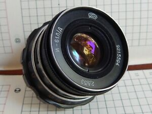 INDUSTAR-61-L-D-2-8-55-mm-made-in-USSR-Leica-lens-M39-Zorki-FED-RF