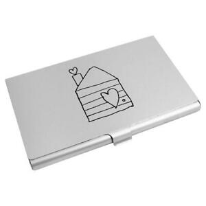 'Home' Business Card Holder / Credit Card Wallet (CH00004453)