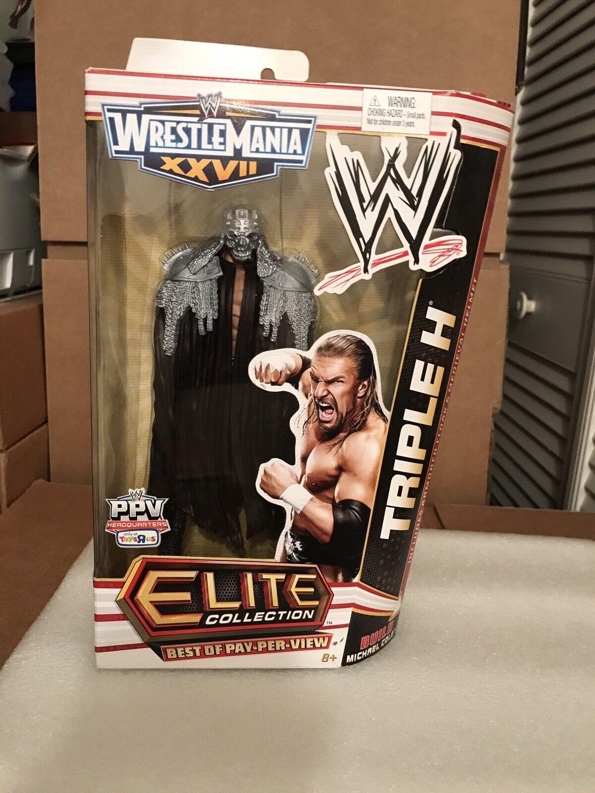 WWE MATTEL ELITE COLLECTION BEST OF PPV combat XXVII Triple H FIGURE NEW