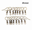 500Pcs Silver//Gold Plated Earring Hook Coil Ear Wire For Jewelry Making Findings