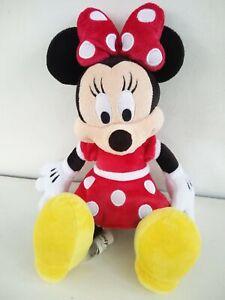 DISNEY-Parks-Minnie-Mouse-schifezze-fidanzata-Giocattolo-Morbido-Peluche-13-5-034-situati-a-piatto