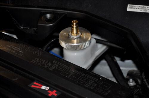 Adapter BJ36 Aluminium Bremsenentlüftungsgerät Bremsen Tesla Chevrolet Opel Ford