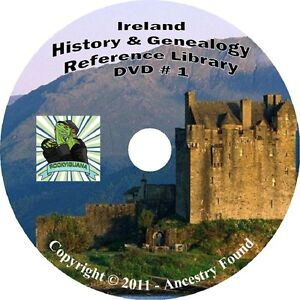 326-books-IRELAND-History-amp-Genealogy-Family-Tree-on-3-DVDs-Compare-Best-Deal