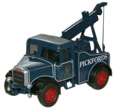Oxford 76SH002 Pickfords Scammell Highwayman Crane Truck 1/76 Scale New in Case