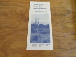 Welcome-to-the-Gila-National-Forest-Pamphlet-Free-Domestic-Shipping
