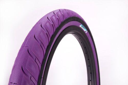 "MERRITT OPTION BMX BICYCLE TIRE 20/"" x 2.35/"" PURPLE"