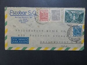 Brazil-1947-Airmail-Cover-to-USA-Z8440