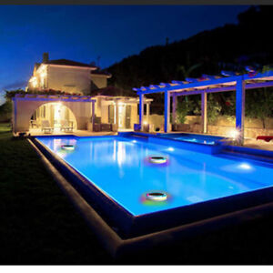 Details about Solar Power RGB Underwater LED Garden Pond Swimming Pool  Floating Light hot