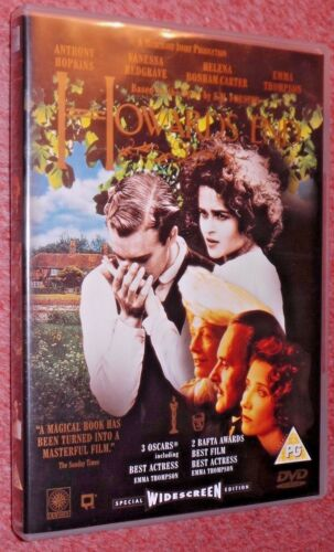 1 of 1 - Howard's End (DVD 1991) Anthony Hopkins, Vanessa Redgrave, Emma Thompson