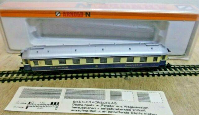 Arnold N 3313 Rheingold Personenwagen 2. Kl. der DRG unbespielt in OVP