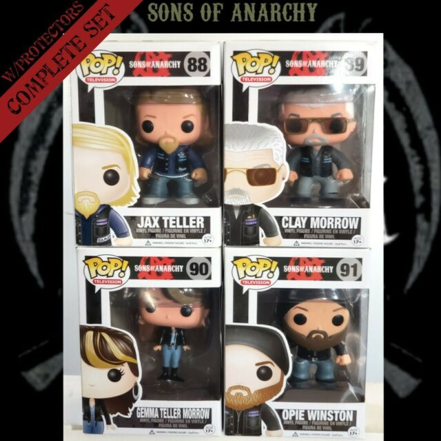 POP Vinyl Sons of Anarchy Clay Morrow