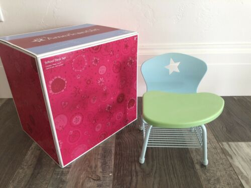 Excellent Condition Original Packaging American Girl School Desk Set