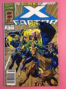 X-FACTOR-Marvel-Comics-No-71-Oct-VFN