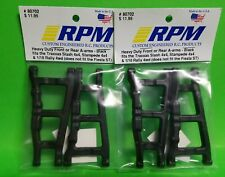 2 RPM Traxxas Slash Stampede 4x4 Black Front Rear Suspension Arms Rally 80702