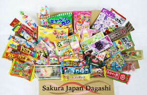 Dagashi-Assortment-Set-Japanese-Candies-Chocolate-Snacks-10-50-Pieces-Mix-Box