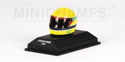 Formule Ford 1600 Ayrton Senna 1981 Helmet Casque 1.8 replica