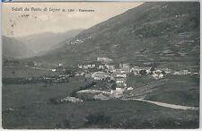 CARTOLINA d'Epoca - BRESCIA provincia:  Ponte di Legno 1924