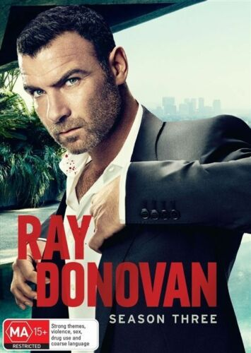 1 of 1 - Ray Donovan : Season 3 (DVD, 2016, 4-Disc Set)