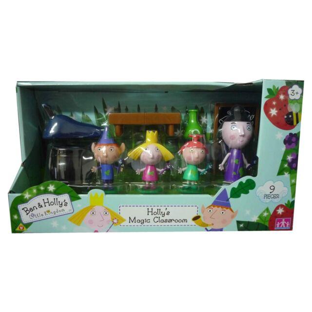 Ben & de Holly Magia Aula Parque Infantil Juguete Inc. 9 Pieces Character Set