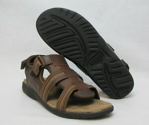 135e253c211f Image is loading Croft-and-Barrow-mens-sandals-brown-size-13-