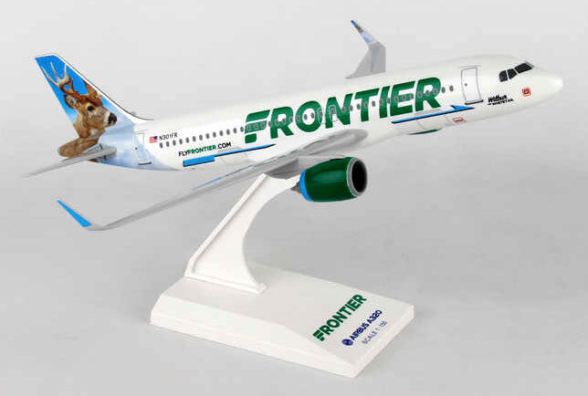 Frontier Airlines Airlines Airlines Wilbur Whitetail Airbus A320-200neo 1 150 SkyMarks SKR907 A320 ed2a84