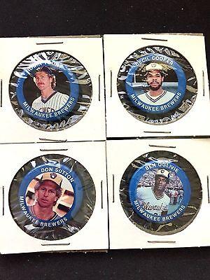 brew Crew Haben Sie Einen Fragenden Verstand Milwaukee Brewers Pin Set Klassisch Collectables 1984 Fun Foods 4
