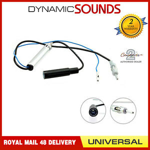 Car Radio Stereo Antenna Aerial Ariel Arial Amplifier Booster Cable Lead DIN-DIN