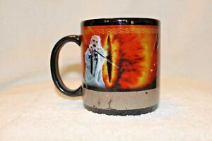 Vintage-Lord-of-The-Rings-Heat-Activated-Coffee-Mug-Two-Towers-Saruman-Exclusive
