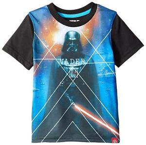 6eab534cd Star Wars Boys' Darth Vader and Storm Trooper Sublimation T-Shirt ...