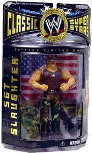 Wwe Wrestling Classic Superstars Toutes les figurines d'action de l'abattage du Sgt américain 843852015859