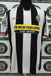 Maglia-calcio-JUVENTUS-TREZEGUET-TG-L-2007-08-shirt-trikot-maillot-jersey