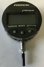 Mahr Federal Umaxum Edi 10102 Digital Electronic Comparator Indicator 3v