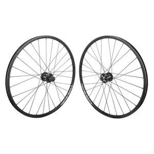 WTB-SX17-Rims-26-034-Black-Mountain-Bike-MTB-Wheelset-6B-28h-Clincher-Shimano-SRAM
