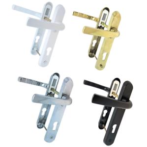 Manetas-de-Puertas-de-Upvc-92mm-Pz-122mm-Tornillos-Blanco-Oro-Cromo-D80-83