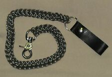 Handmade Stainless Steel Chainmail Wallet chain great for Harley riders
