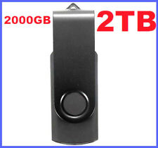 2TB / 2000GB USB Pendrive for PC Laptop LCD LED TV | Android IOS Apple Tablet