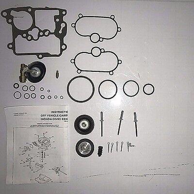 1986 89 CARBURETOR KIT HONDA 1.9L 4 CYLINDER ENGINE KEIHIN 2 BARREL NEW!