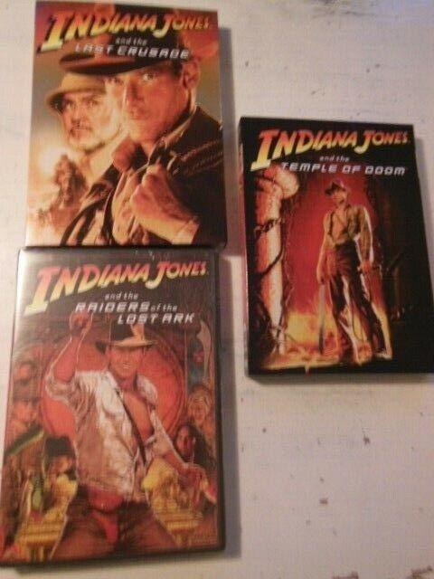 Indiana Jones 1-3 (Nye i folie), instruktør Spielberg &