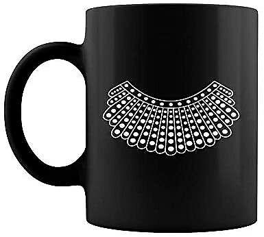 Rbg I Dissent Collar Coffee Mug Ruth Bader Ginsburg Costume