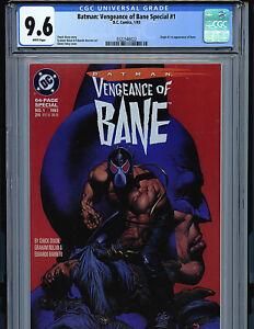 Batman-Vengeance-of-Bane-1-CGC-9-6-NM-1st-Print-1993-1st-Bane-DC-Comics-k1