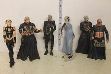 Neca Hellraiser Series 1 LOOSE Set Pinhead, Julia, Butterball, Barbie, Surgeon