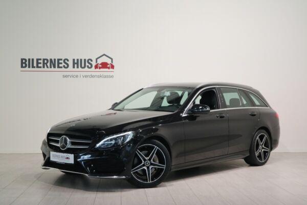 Mercedes C220 d 2,2 AMG Line stc. aut. billede 0