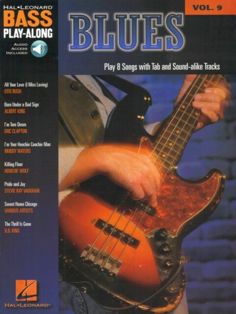Blues Bass Play-Along Noten Tab mit Download Code