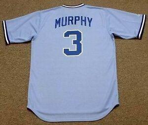 Detalles acerca de Dale Murphy Atlanta Braves 1983 Majestic Cooperstown lejos de Béisbol Jersey- mostrar título original