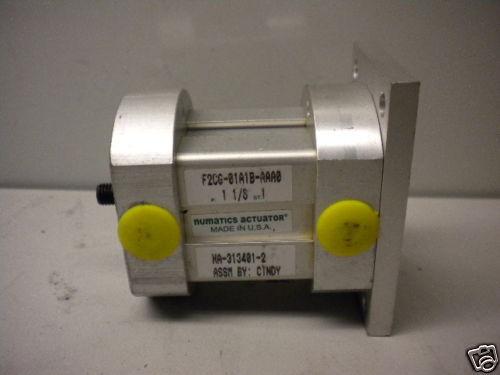 NUMATICS F2CG-01A1B-AAA0 ACTUATOR NEW F2CG01A1BAAA0