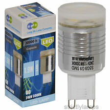 G9 Smd Led Light Bulb Warm White Energy Saving Replacement Halogen New