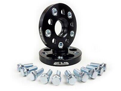 5X100 /& 5X112 PCD 57.1 Centre Bore Exile Motorsport 8mm Black Wheel Spacers