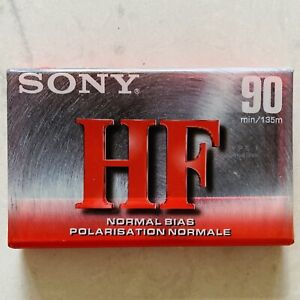 Sony HF 90 Minute Cassette Tape NEW Normal Bias C-90HFC