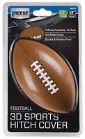 Reese Football 3d Sports Hitch Box Cover 2 Inch Receiver Nfl Ncaa Collage